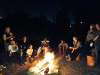 Youth Camping at the D's - 2014.