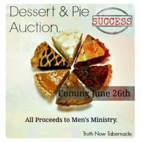 Dessert & Pie Auction {June 2016}